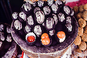 Chinatown. Hundred Year Old Eggs (Century Eggs).
