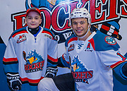 KELOWNA, CANADA - DECEMBER 27:  Pepsi Player of the Game with Carsen Twarynski #18 of the Kelowna Rockets at the Kelowna Rockets game on December 27, 2017 at Prospera Place in Kelowna, British Columbia, Canada.  (Photo By Cindy Rogers/Nyasa Photography,  *** Local Caption ***