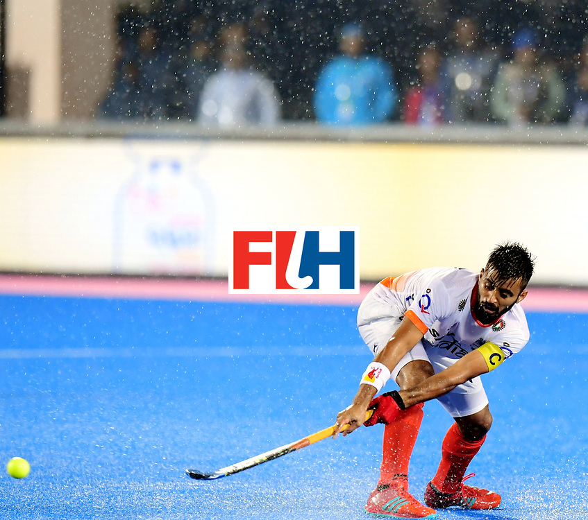 Odisha Men's Hockey World League Final Bhubaneswar 2017<br /> Match id:19<br /> India v Argentina<br /> Foto: Manpreet Singh (Ind) <br /> COPYRIGHT WORLDSPORTPICS FRANK UIJLENBROEK