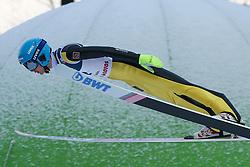 November 19, 2017 - Wisla, Poland - Mikhail Nazarov (RUS), competes in the individual competition during the FIS Ski Jumping World Cup on November 19, 2017 in Wisla, Poland. (Credit Image: © Foto Olimpik/NurPhoto via ZUMA Press)