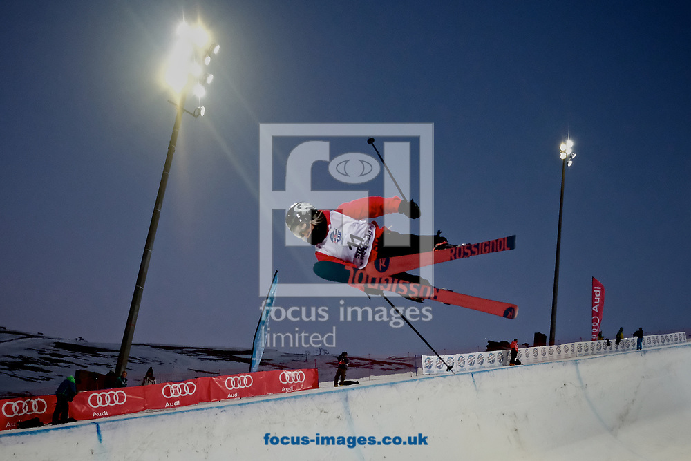 Rowan Cheshire (GBR) during the Women's Half Pipe Final on Day Eleven of the FIS Freestyle Ski &amp; Snowboard World Championships 2017 at Sierra Nevada Ski Station, Granada<br /> Picture by Kristian Kane/Focus Images Ltd +44 7814 482222<br /> 18/03/2017