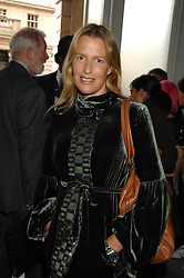 INDIA HICKS at Fashion Fringe 2007 held at 1 The Piazza, Covent Garden, London on 20th September 2007.<br />