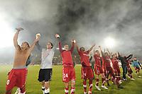 FOOTBALL - FRENCH CHAMPIONSHIP 2010/2011 - L1 - VALENCIENNES FC v OGC NICE - 29/05/2011 - PHOTO ALAIN GADOFFRE / DPPI - JOY VALENCIENNES