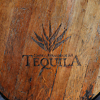 Wooden Tequila Barrel in Playa del Carmen, Mexico<br />