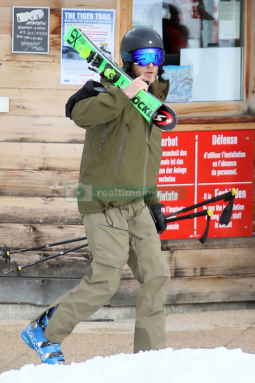 EXCLUSIVE: Andrea Casiraghi skiing in Gstaad. 01 Jan 2018 Pictured: Andrea Casiraghi. Photo credit: Corrado Calvo / MEGA TheMegaAgency.com +1 888 505 6342