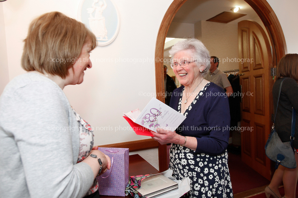 . Bess Layton's 80th birthday celebration, Charlestown. 23 April 2011.