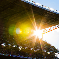 September 26, 2015: Husky Stadium at sunset in Seattle, WA. (Photo by Christopher Mast/Icon Sportswire)