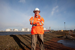 John McNally, Ineos MD at the Grangemouth refinery. The Sun had access to the plant for a 'year on' tale (last year the plant closed following strike action - this is an update piece).