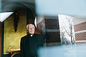 Portrait : Father Charles Currie for the Chronicle of Higher Education