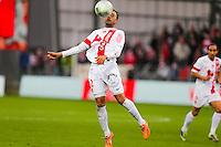 Alexandre ALPHONSE  - 20.12.2014 - Brest / Ajaccio - 18eme journee de Ligue 2 -<br /> Photo : Vincent Michel / Icon Sport