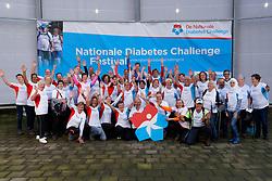 28-09-2019 NED: Finale Nationale Diabetes Challenge, Den Haag<br /> Diverse gezondheidscentra, huisartsenpraktijken en fysiotherapie praktijken zijn met ondersteuning van de BvdGF gestart met een lokale wandel challenge. De grote finale vondt plaats in de Uithof in Den Haag