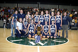 26 January 2008: 98th McLean County - Heart of Illinois Conference Tournament.<br /> Flanagan v Ridgeview Girls
