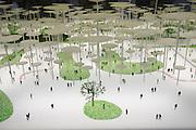 """12th Biennale of Architecture. Giardini. Biennale Pavillion. Coll. Daniele Macchi, """"Bosco di Architettura"""", 2007."""