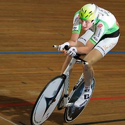 Tim Rodenburg in zijn gouden race op het NK kilometer
