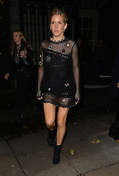 Singer Ellie Goulding leaving Rosewood London after her performance at TFI Friday earlier in the evening in London, UK. 27/11/2015<br />BYLINE MUST READ : GOTCHAIMAGES.COM<br /><br />Copyright by © Gotcha Images Ltd. All rights reserved.<br />Usage of this image is conditional upon the acceptance <br />of Gotcha Images Ltd, terms and conditions available at<br />www.gotchaimages.com