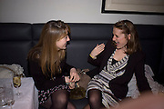 LUCY BEAUMONT; HARRIET DAVIES, Brompton Bar And Grill - launch party - celeb update<br /> Brompton Bar And Grill, 243 Brompton Road, London, SW3 11 March 2009 *** Local Caption *** -DO NOT ARCHIVE-© Copyright Photograph by Dafydd Jones. 248 Clapham Rd. London SW9 0PZ. Tel 0207 820 0771. www.dafjones.com.<br /> LUCY BEAUMONT; HARRIET DAVIES, Brompton Bar And Grill - launch party - celeb update<br /> Brompton Bar And Grill, 243 Brompton Road, London, SW3 11 March 2009