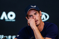 Andy Murray Announces Plans To Retire From Tennis - 11 Jan 2019