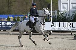Van Roosbroeck Catherine, BEL, Gautcho Da Quinta<br /> CSI 2* Grand Prix<br /> Z Tour - Lanaken 2017<br /> © Hippo Foto - Julien Counet<br /> 21/04/12