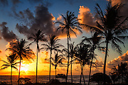 Sunrise Over Lydgate Beach Kauai