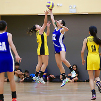 Republic Polytechnic, Thursday, November 24, 2016 — Ngee Ann Polytechnic swept past Singapore Polytechnic 69-20 to win their fourth POL-ITE Netball Championship in a row.