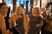 TALINE TEMIZIAN; ELIZABETH BARNETT-LAWTON; LUCIE HESKETH-BREM, The  launch of Bentley & SkinnerÕs new premises with Lady Helen Taylor at 55 Piccadilly. Bentley and Skinner will be giving a percentage of any items sold on the night to CLIC Sargent. 14 September 2010. -DO NOT ARCHIVE-© Copyright Photograph by Dafydd Jones. 248 Clapham Rd. London SW9 0PZ. Tel 0207 820 0771. www.dafjones.com.<br /> TALINE TEMIZIAN; ELIZABETH BARNETT-LAWTON; LUCIE HESKETH-BREM, The  launch of Bentley & Skinner's new premises with Lady Helen Taylor at 55 Piccadilly. Bentley and Skinner will be giving a percentage of any items sold on the night to CLIC Sargent. 14 September 2010. -DO NOT ARCHIVE-© Copyright Photograph by Dafydd Jones. 248 Clapham Rd. London SW9 0PZ. Tel 0207 820 0771. www.dafjones.com.