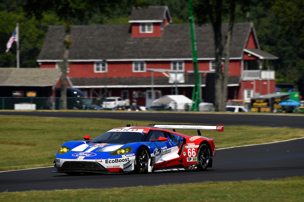 26-28 August, 2016, Alton, Virginia USA<br /> 66, Ford GT, GT, GTLM, Joey Hand, Dirk Muller<br /> &copy;2016, Scott R LePage <br /> LAT Photo USA