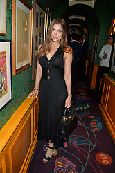 SOPHIE MIRANDA at a party for the UK launch of Mr Boho held at Annabel's, 44 Berkeley Square, London on 19th May 2016.