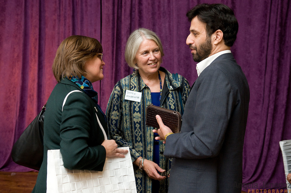 Women and men from around the world gathered Monday, September 19, 2011 at the 82 Mercer event space in New York City for the Wake Up to Maternal & Newborn Health Breakfast, followed by the WIE symposium, co-sponsored by The White Ribbon Alliance for Safe Motherhood...Important guests included Sarah Brown, Arianna Huffington and Donna Karan...The event kicked off an important week of global conversations including the annual gatherings of the UN General Assembly and the Clinton Global Initiative. ..Photographed by Angela Jimenez for The White Ribbon Alliance for Safe Motherhood. .www.angelajimenezphotography