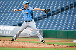 June 5, 2017 - St. Petersburg, Florida, U.S. - WILL VRAGOVIC   |   Times.Charlotte Stone Crabs pitcher Brad Boxberger (11) throwing in the first inning of the game between the Charlotte Stone Crabs and the Clearwater Threshers at Spectrum Field in Clearwater, Fla. on Monday, June 6, 2017. (Credit Image: © Will Vragovic/Tampa Bay Times via ZUMA Wire)