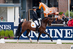 Minderhoud Hans Peter, NED, In Style<br /> World Championship Young Dressage Horses - Ermelo 2019<br /> © Hippo Foto - Dirk Caremans<br /> Minderhoud Hans Peter, NED, In Style