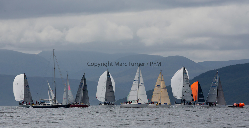 Silvers Marine Scottish Series 2017<br /> Tarbert Loch Fyne - Sailing Day 3<br /> <br /> IRC Fleets on Loch Fyne