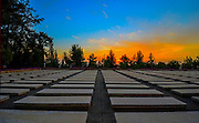 """Israel, Jerusalem, Mount Herzl, Israel's national cemetery Mass Grave for 238 Jewish emigrants on board the ship """"Salvador"""" that sank in December 1940 on the way to Palestine"""