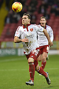 Sheffield United forward Billy Sharp during the Sky Bet League 1 match between Sheffield Utd and Bradford City at Bramall Lane, Sheffield, England on 28 December 2015. Photo by Ian Lyall.