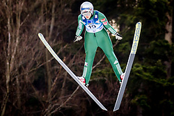 Silje Opseth (NOR) during 1st Round at Day 1 of FIS Ski Jumping World Cup Ladies Ljubno 2018, on January 27, 2018 in Ljubno ob Savinji, Ljubno ob Savinji, Slovenia. Photo by Ziga Zupan / Sportida
