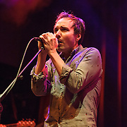 WASHINGTON, DC - January 24th, 2014 -  Daniel Rossen of Grizzly Bear performs at the 9:30 Club in Washington, D.C. with members of Beach House, The Walkmen, Wye Oak, Grizzly Bear and other bands during a tribute to Gene Clark's seminal 1974 album, No Other.  (Photo by Kyle Gustafson /  For The Washington Post)