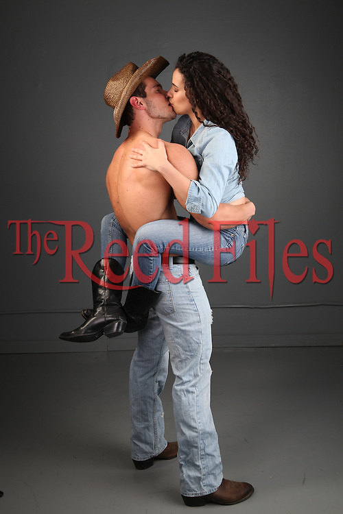 the Reed Files sexy western couple stock