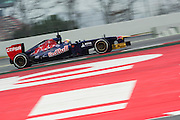 February 21, 2013 - Barcelona Spain. Jean-Eric Vergne, Scuderia Toro Rosso during pre-season testing from Circuit de Catalunya.