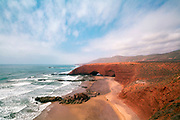 Legzira Beach, Sidi Ifni Province,Southern Morocco, 2016-07-04. <br />