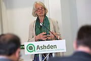 Camilla Toulmin of IIED speaking at the 2015 Ashden International Conference. The Business of Energy: Enterprising Solutions to the Energy Access Challenge. Kings Cross, London, UK. All image use must be credited. © Andrew Aitchison / Ashden