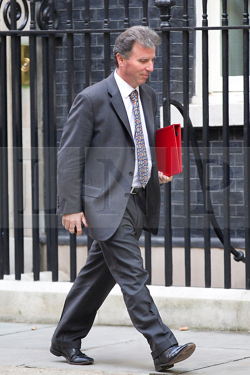 © Licensed to London News Pictures. 10/09/2013. London, UK. Oliver Letwin, Minister for Government Policy, is seen on Downing Street in London today (10/09/2013) after a meeting of the British Government's cabinet. Photo credit: Matt Cetti-Roberts/LNP