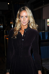LADY VICTORIA HERVEY at a party to celebrate the 1st anniversary of Gift-Library.com held at Bob Bob Ricard, 1 Upper James Street, London on 19th November 2009.