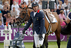 De Ponnat Amymeric (FRA) - Armitages Boy<br /> FEI Nations Cup of Sweden - Falsterbo 2012<br /> © Hippo Foto - Beatrice Scudo