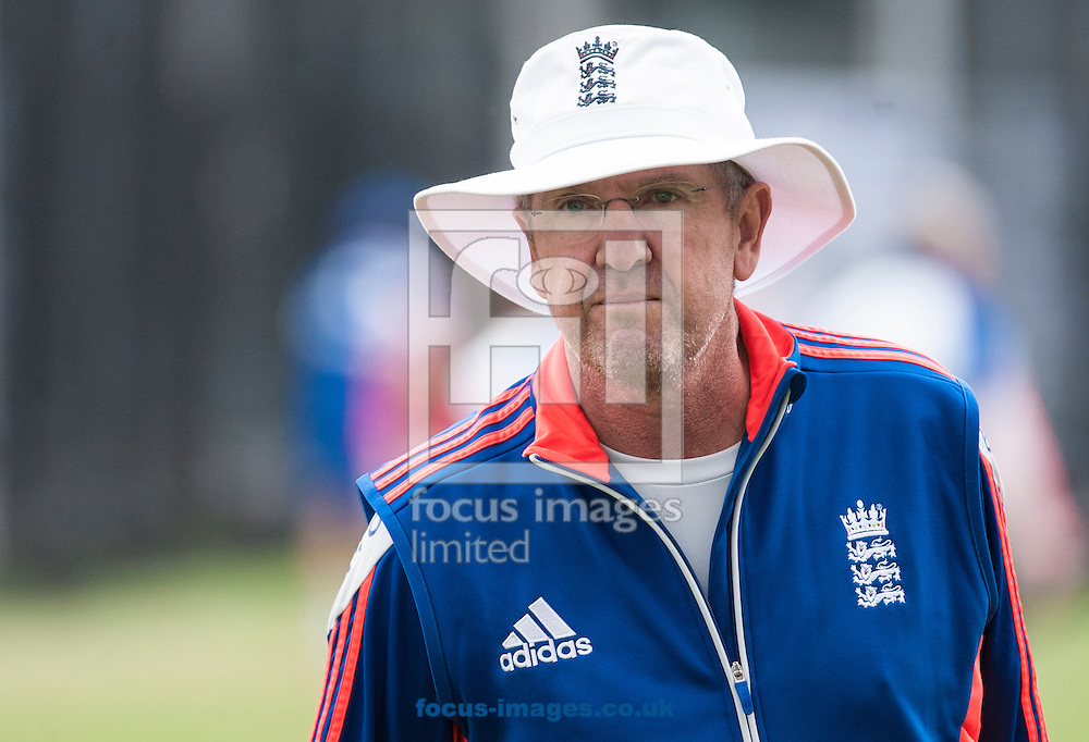 Trevor Baliss during the England Cricket Practice at Lord's, London<br /> Picture by Jack Megaw/Focus Images Ltd +44 7481 764811<br /> 15/07/2015