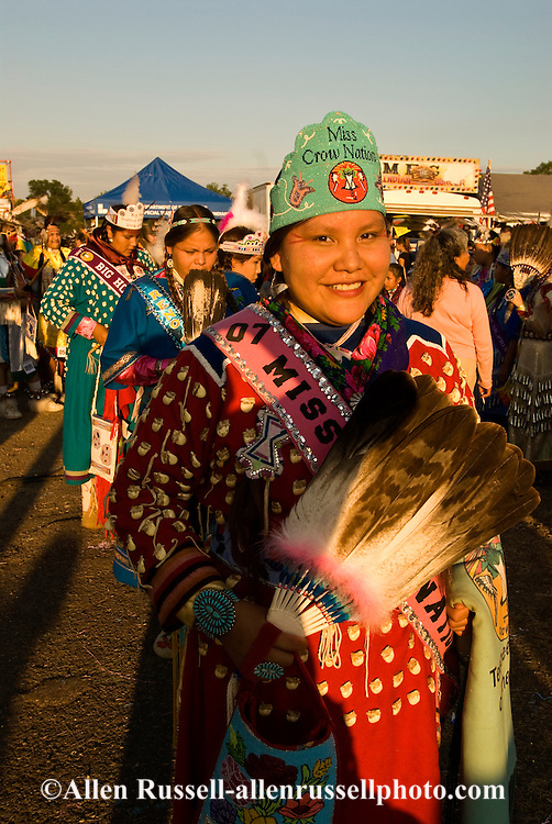 Jessi Realbird, Miss Crow Nation, Womens Traditional Dancer, Crow Fair, powwow, Crow Indian Reservation, Montana