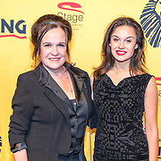 NLD/Scheveningen/20161030 - Premiere musical The Lion King, Xandra Brood en dochter Holly Brood