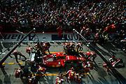 September 3-5, 2015 - Italian Grand Prix at Monza: Ferrari pitstop practice