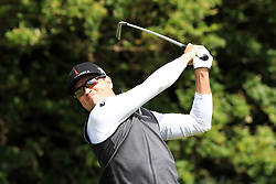 USA's Zach Johnson tees off the 5th during day one of The Open Championship 2017 at Royal Birkdale Golf Club, Southport. PRESS ASSOCIATION Photo. Picture date: Thursday July 20, 2017. See PA story GOLF Open. Photo credit should read: Peter Byrne/PA Wire. RESTRICTIONS: Editorial use only. No commercial use. Still image use only. The Open Championship logo and clear link to The Open website (TheOpen.com) to be included on website publishing. Call +44 (0)1158 447447 for further information.