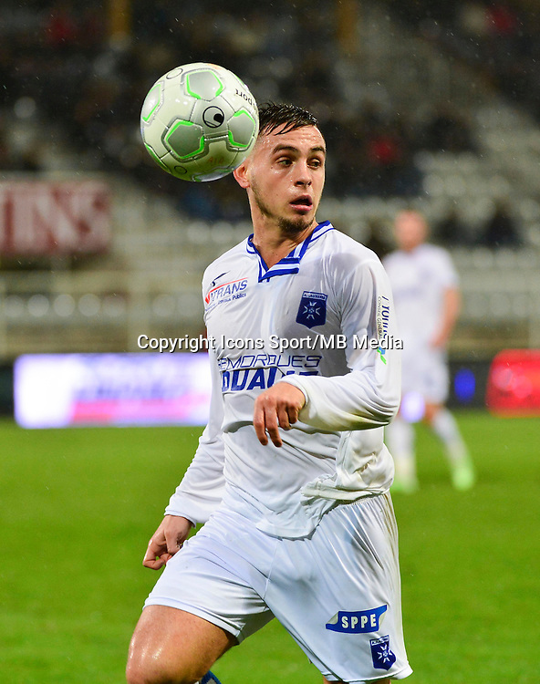 Ruben AGUILAR   - 19.12.2014 - Auxerre / Niort - 18e journee Ligue 2<br /> Photo : Dave Winter / Icon Sport