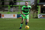 Forest Green Rovers Carl Winchester(7) on the ball during the EFL Sky Bet League 2 match between Forest Green Rovers and Grimsby Town FC at the New Lawn, Forest Green, United Kingdom on 22 January 2019.