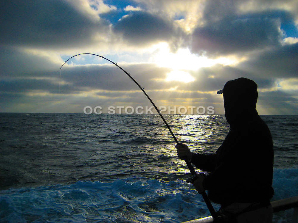Fisherman With A Hook Up